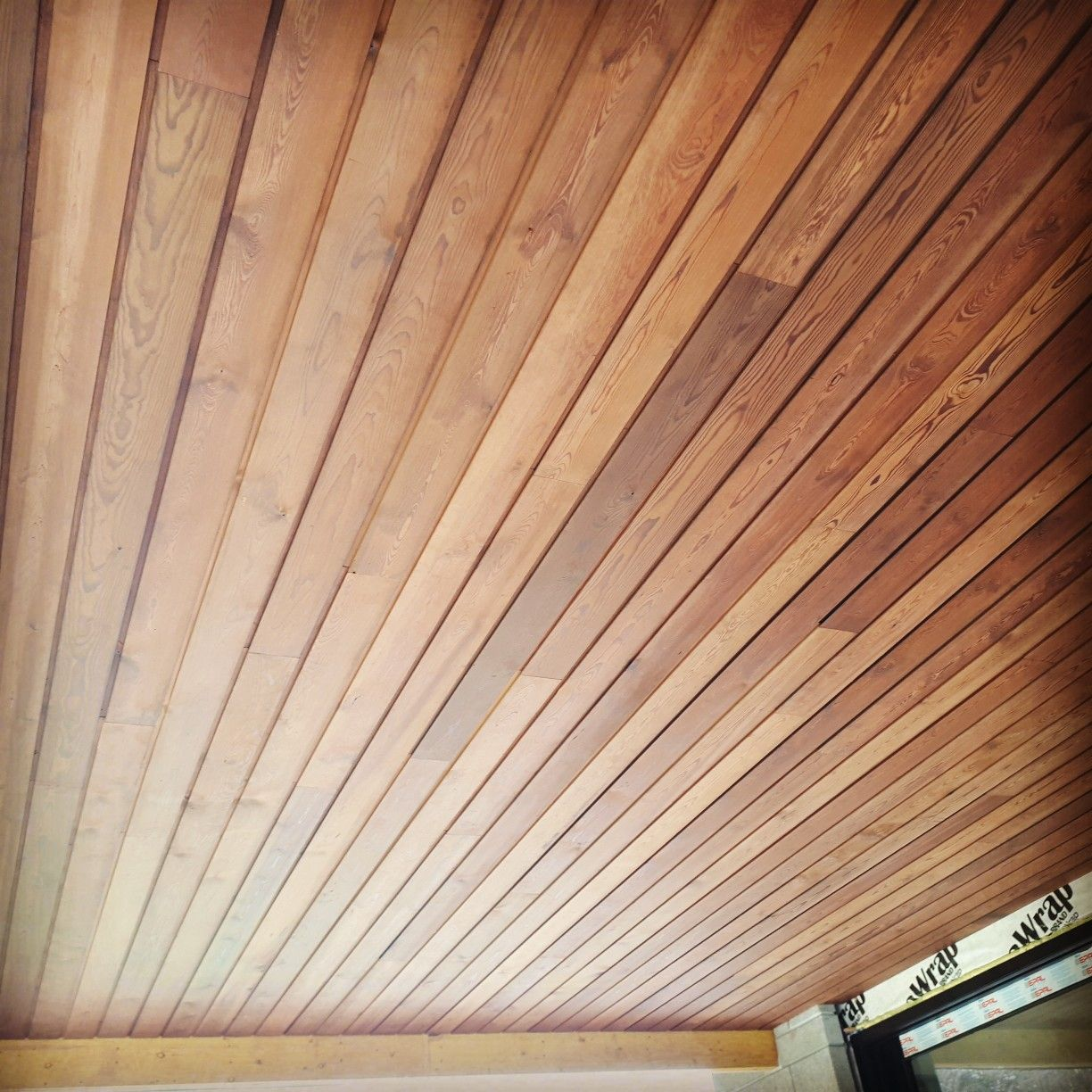Premium Pine Siding Ceiling Soffit Wood Material Thermallymodified Torrified Bakedwoo