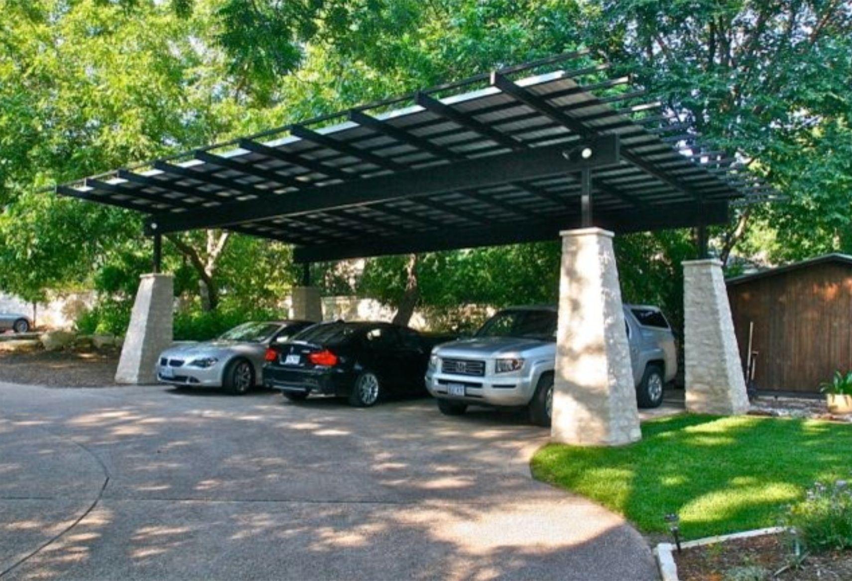 Carport | Modern carport, Carport designs, Lake house