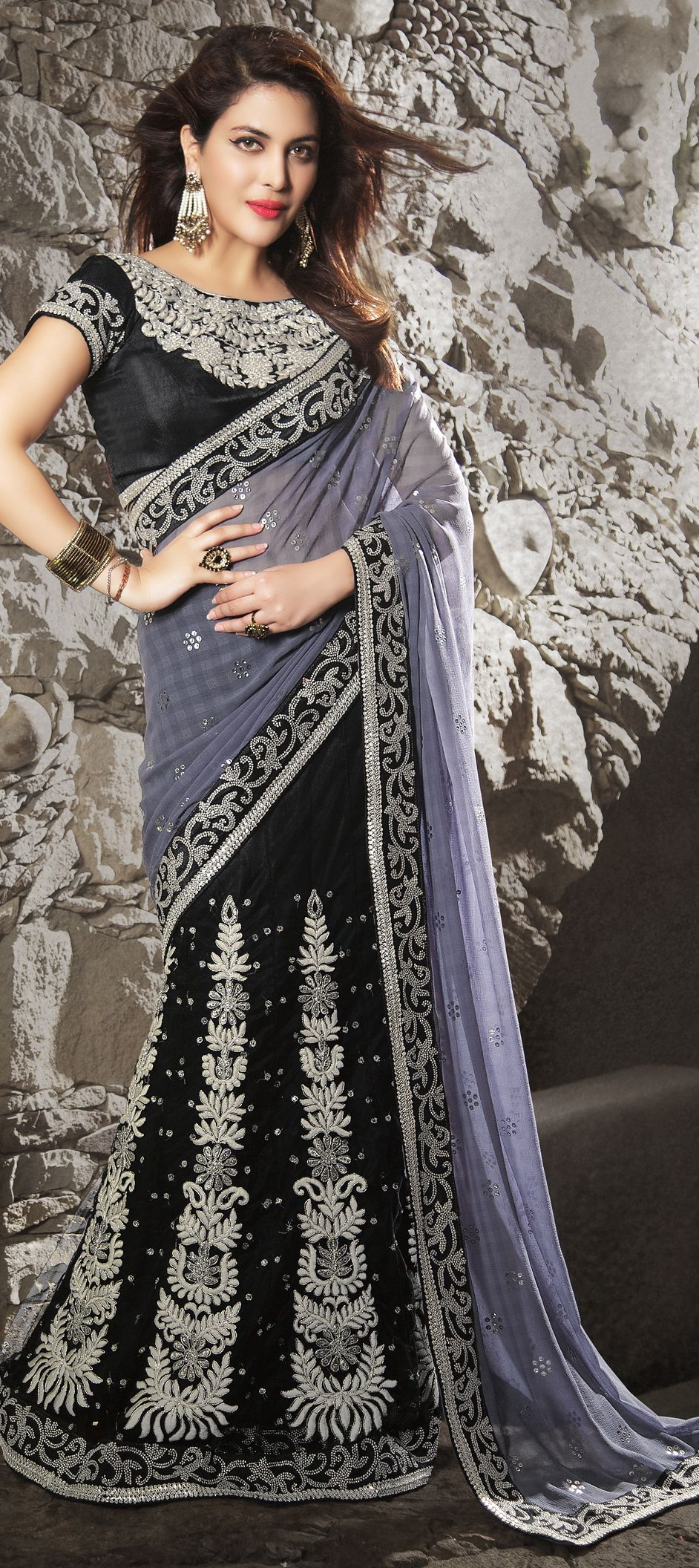 Pin by Joshindia.com on Lehenga Style | Lehenga style saree, Lehenga style, Lehenga saree