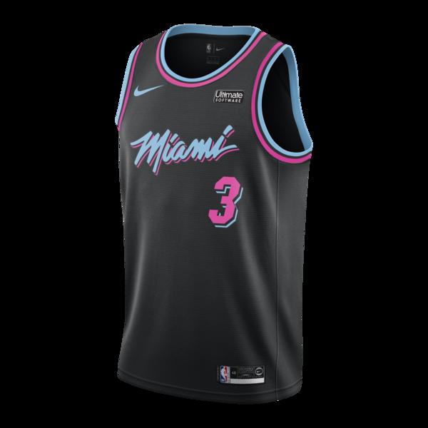 Dwyane Wade Nike Miami HEAT Vice Nights Swingman Jersey