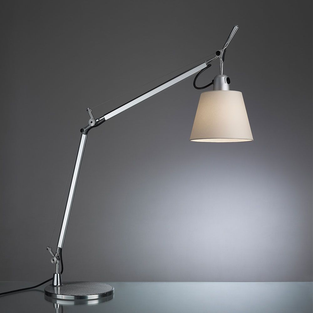 Tolomeo Shade Desk Lamp With Base By Artemide Tls0000 In 2020 Desk Lamp Lamp Table Lamp