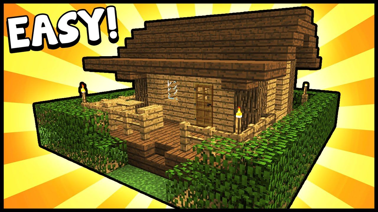 Small Survival Starter House Minecraft Tutorial Minecraft House - Minecraft grobe hauser download