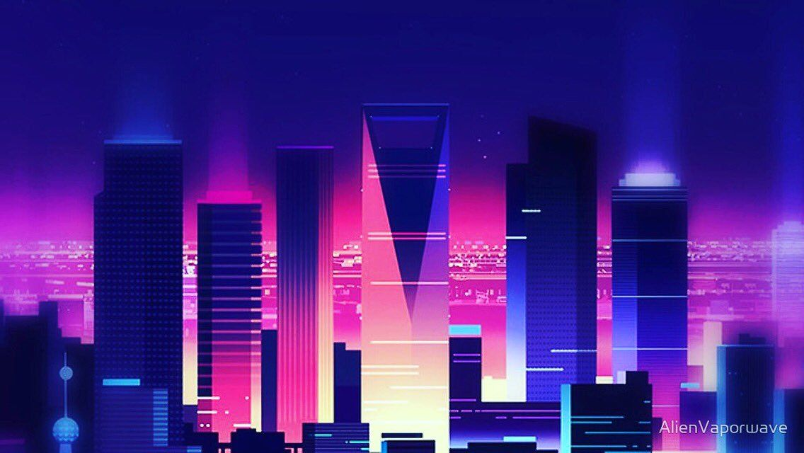 Image result for vaporwave city (With images)   Synthwave ...