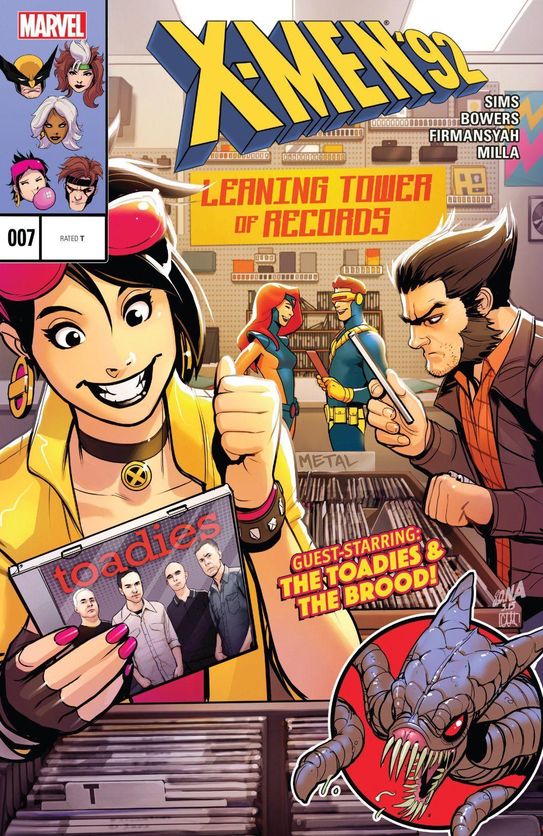 X Men 92 2016 7 Comics By Comixology X Men Marvel Comics Marvel