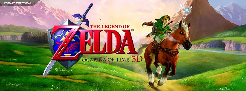 The Legend of Zelda Ocarina of Time 3DS ROM (CIA) http