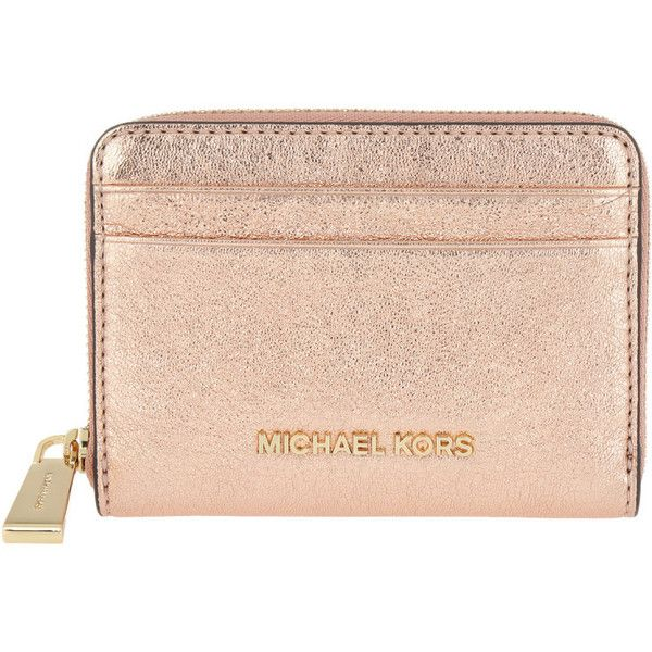 31024be52eed56 Michael Kors Small Leather Goods - Money Pieces ZA Card Case Soft Pink.