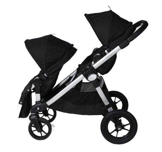 Amazon Baby Jogger City Select Stroller With 2nd Seat Onyx Add Car Adapters And Toddler Board