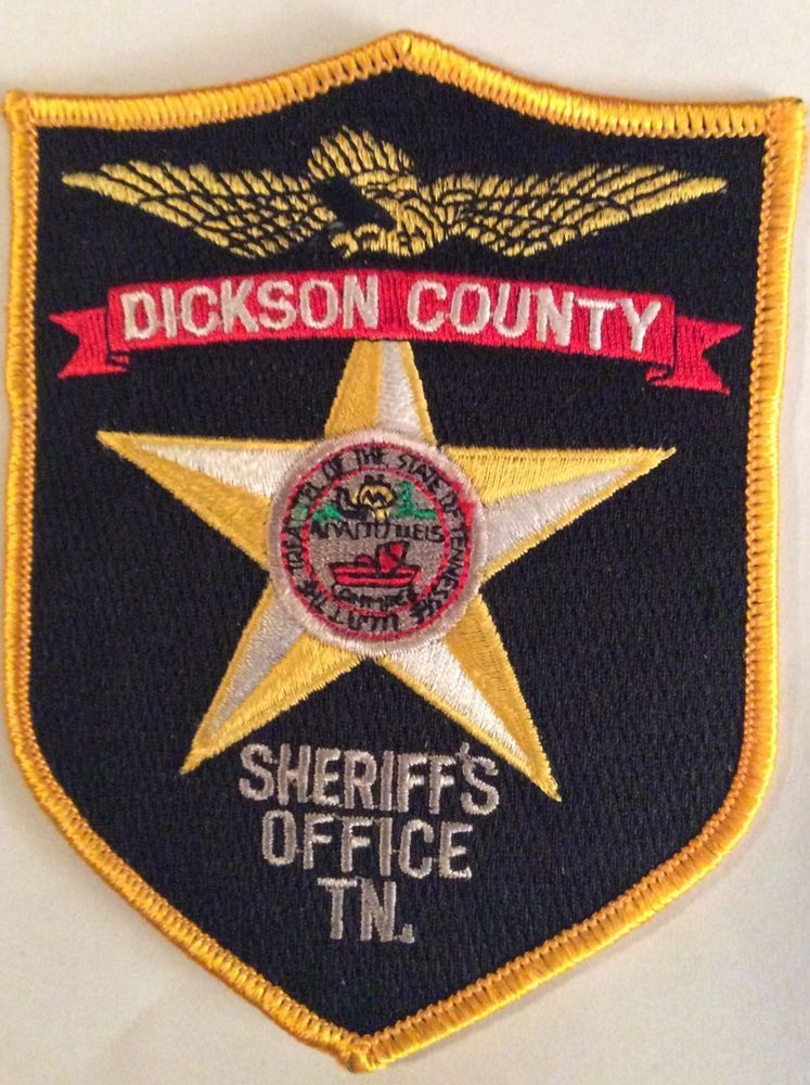 Dickson county tennessee police sheriffs patch