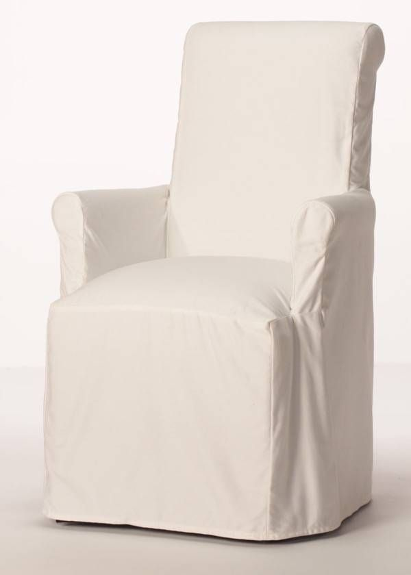 Purity Arm Chair Slipcover From Carrington Court Direct Slipcovers For Chairs Dining Chair Slipcovers Custom Dining Chairs