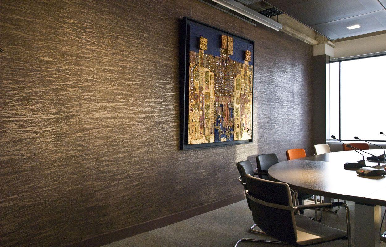 signature murale project ali decorative plaster. Black Bedroom Furniture Sets. Home Design Ideas