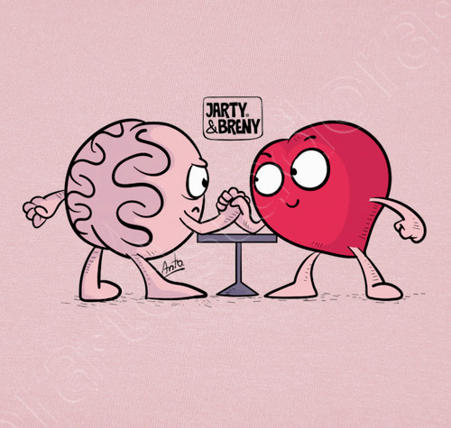 Pin By A R On Corazon Y Cerebro In 2020 Heart Vs Brain Heart And Brain Comic Retro Tshirt