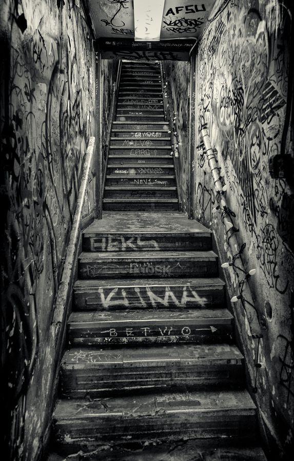 Lower Manhattan Stairwell Houston Street New York City By Alan Shapiro On 500px Houston Street Lower Manhattan Street Photography