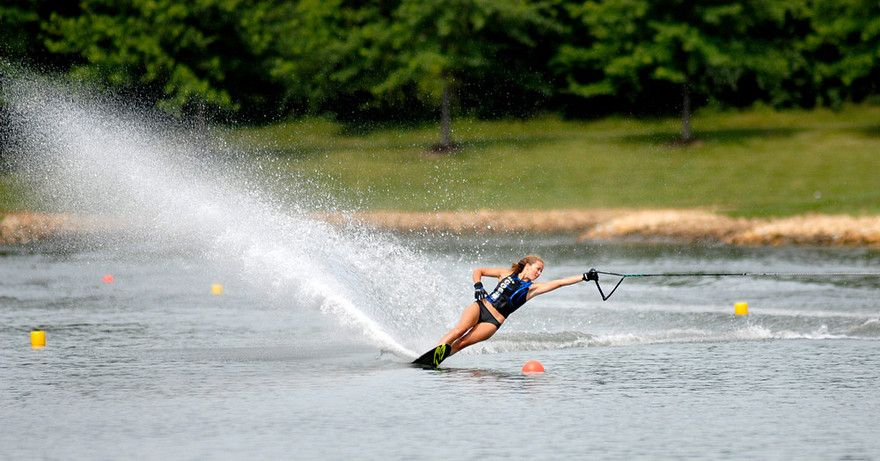 Water Skiing Poetry In Motion Water Skiing Slalom Water Skiing Skiing