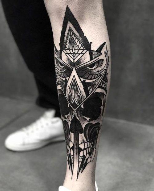 Tatuajes En La Pierna Para Hombres Con Los Mejores Disenos Tatuajes Pierna Tatuajes Para Hombres Tatuajes