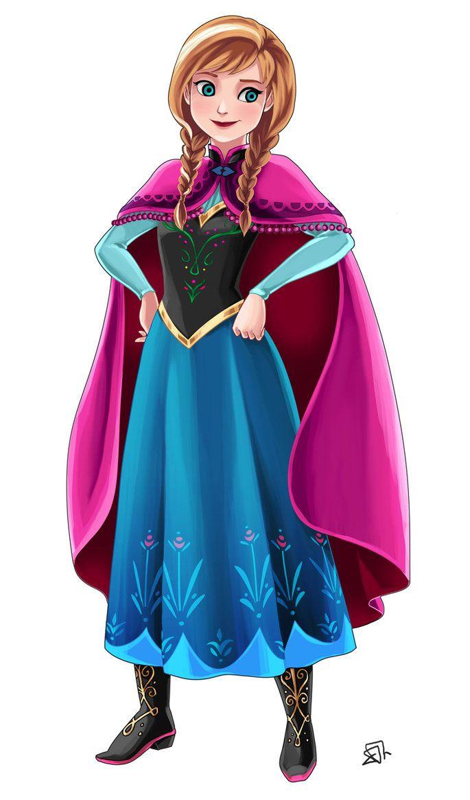 Frozen Anna By Https Www Deviantart Com Acesla On Deviantart Ana Frozen Anna Frozen Princess Anna Frozen