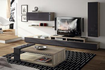 Table basse contemporaine TEXAS, Table de salon design couleur ...