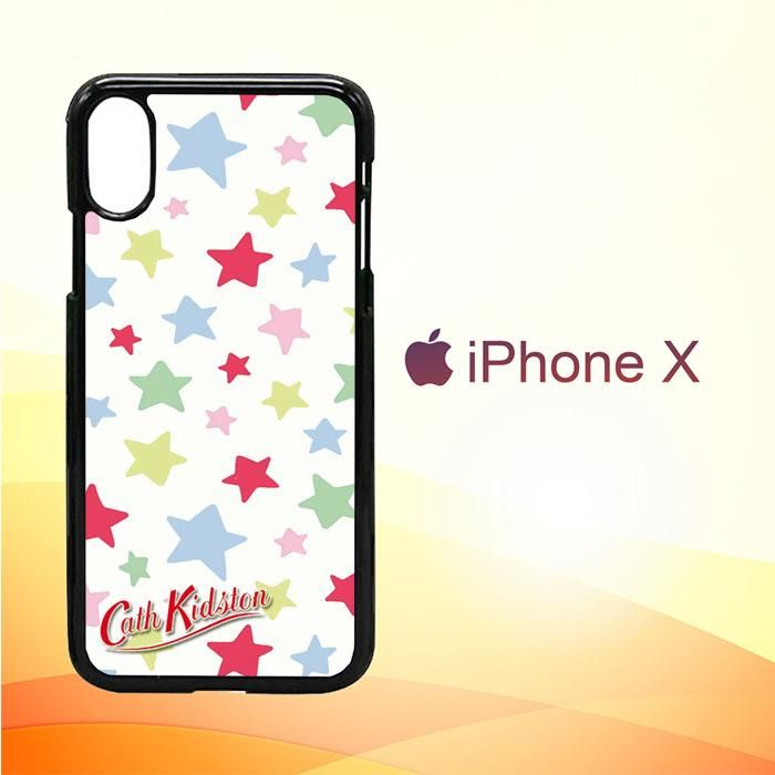 the latest 4e587 1a75d Cath Kidston Star E0801 iPhone X Case | Products | Iphone 8 cases ...