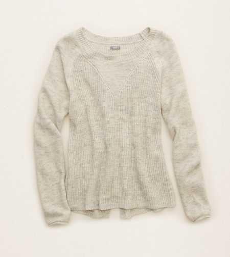 Aerie Split Back Sweater