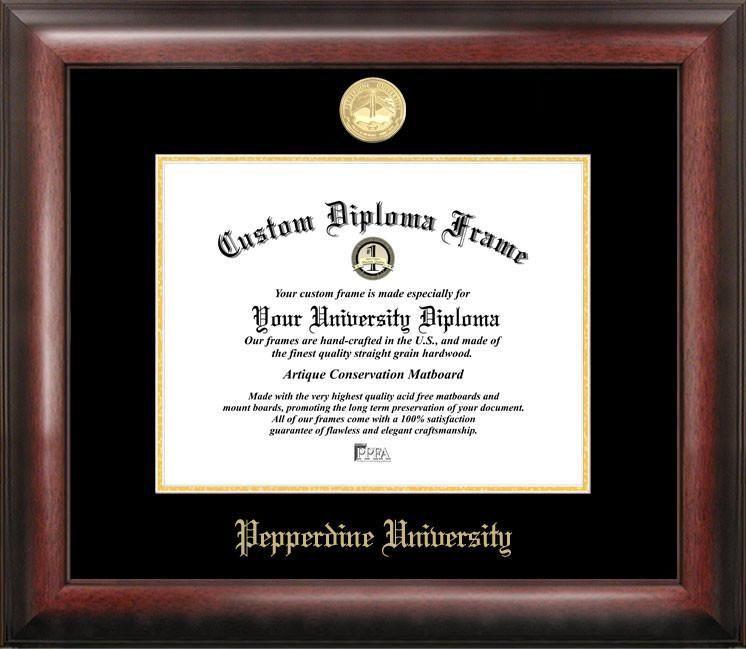 Pepperdine University Spirit Diploma Frame   /BBC/World Broadcasting ...