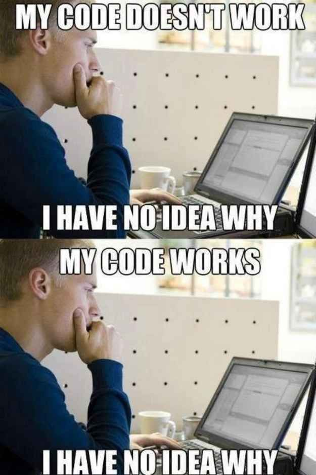 27 Things Only Developers Will Find Funny Computer science - video game designer job description