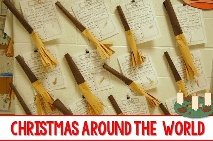 We loved studying Christmas traditions from around the world Check