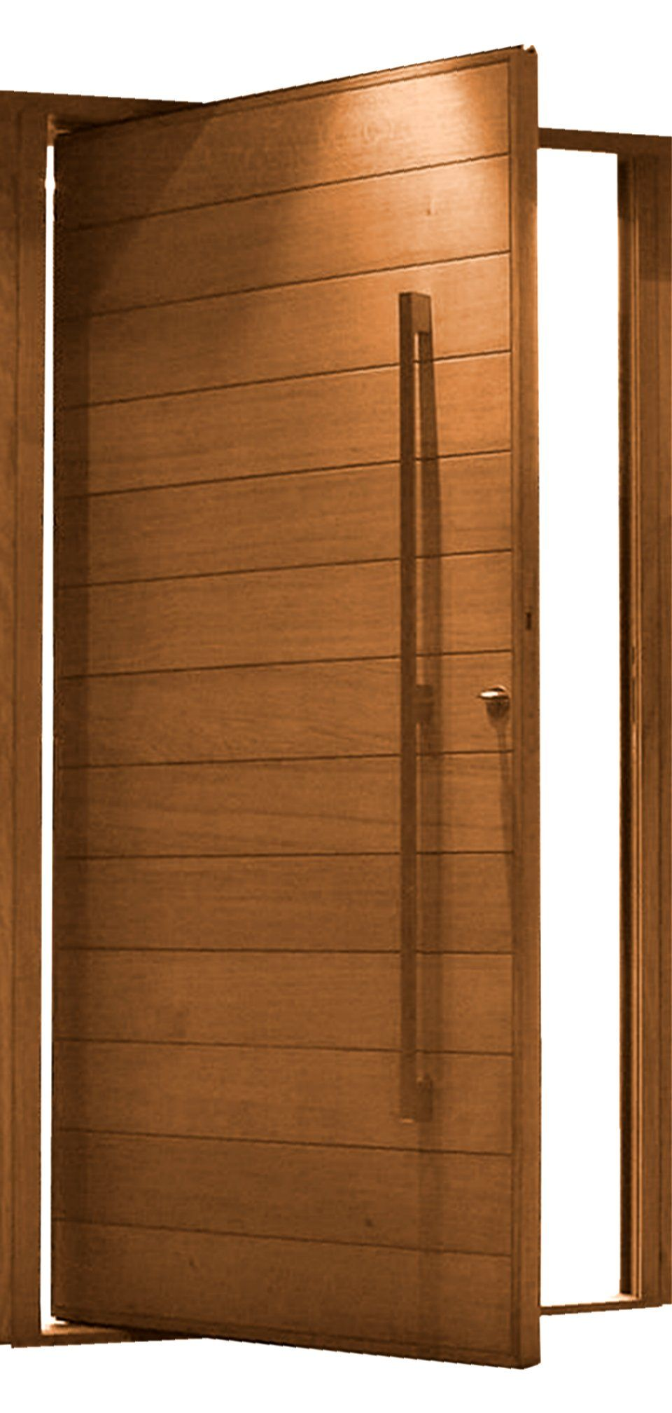 Affordable 4x8 pivot door pre hung lightweight high for Insulated front entry doors