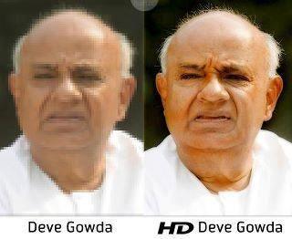 """Deve Gowda"" ... & ""HD Deve Gowda"" :)"