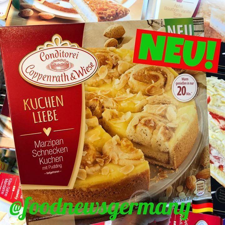 Coppenrath Wiese Marzipan Schnecken Kuchen Produktneuheit Lebensmittelneuheiten Neu Foodnews Foodnewsgermany Foodnewsgerman Marzipan Food Snacks