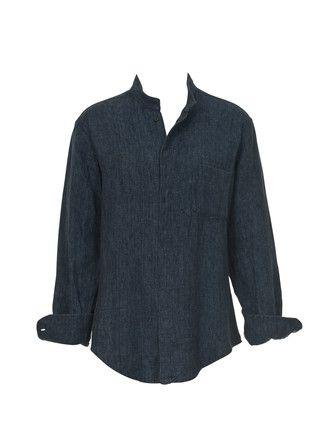 822fe685a4 Unisex-Hemd - Stehkragen 132 0712 B | Tunics | Shirts, Unisex und ...