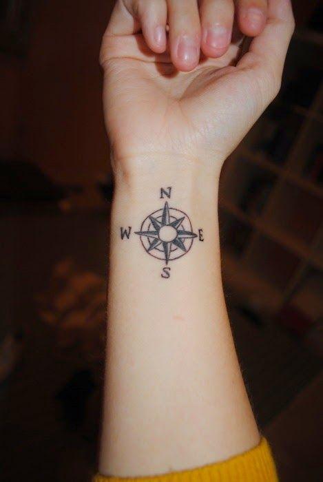 Hermandad Lunática Rosa De Los Vientos Tatuajes Que Tendré