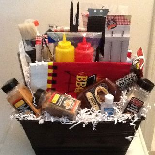 30 Awesome Fathers Day Gift Basket Ideas for Men | Bbq diy ...