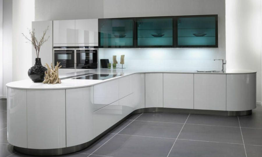 Bildergebnis für küche l form vitrine Küche Pinterest Searching - küche in u form