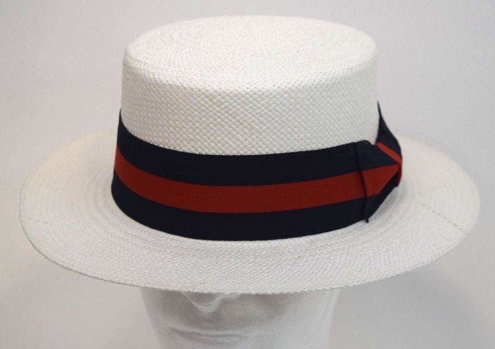 8f5d9b61f80 ...  shoes  accessories  mensaccessories  hats (ebay link) · Mens Dress  Casual Boater Hat Skimmer Sailor Barbershop Straw White S M L XL  fashion   clothing