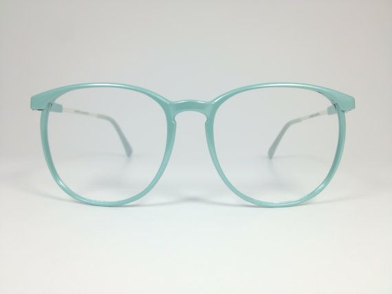 Vintage 80s Baby Blue Pearlescent Oversized Eyeglass Frame Etsy Eyeglasses Eyeglasses Frames 80s Glasses