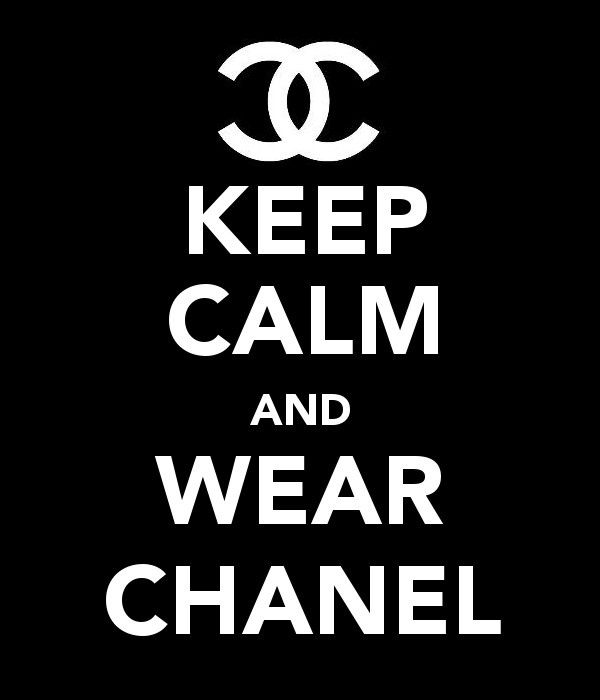 Keep Calm And Wear Chanel Coco Chanel Lippen Und Statements