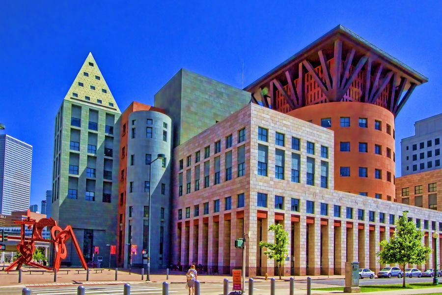 Denver Public Library Michael Graves This Is From The