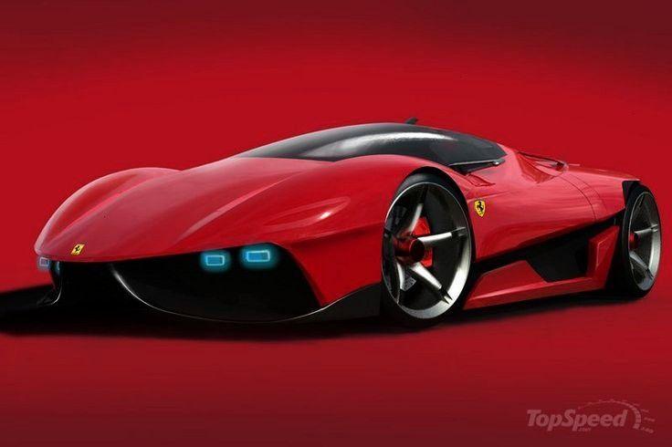 EGO Concept Study - Auto Innenausstattung Design  - Auto Design Ideen -Ferrari EGO Concept Study -