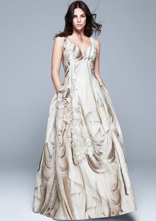 New H&M CONSCIOUS EXCLUSIVE WEDDING DRESS SILK LINEN Organic ...