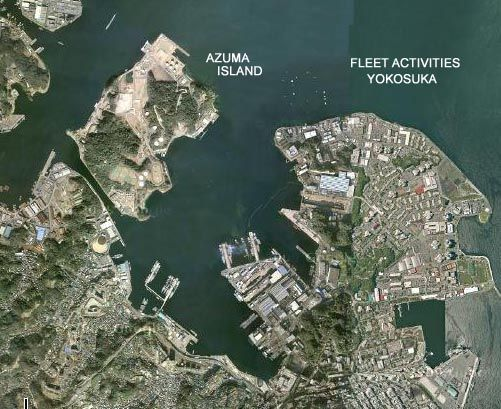 Yokosuka Naval Base Google Search Japan Pinterest - Us naval bases in japan map