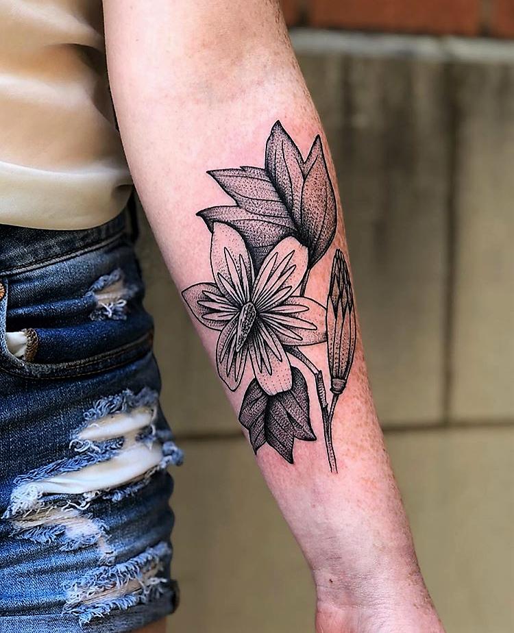 Tulip Tattoo Designs For Men