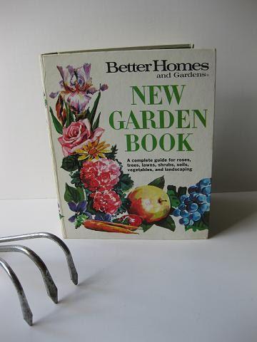 Vintage 1968 Better Homes & Gardens New Garden Book by jenscloset, $12.50
