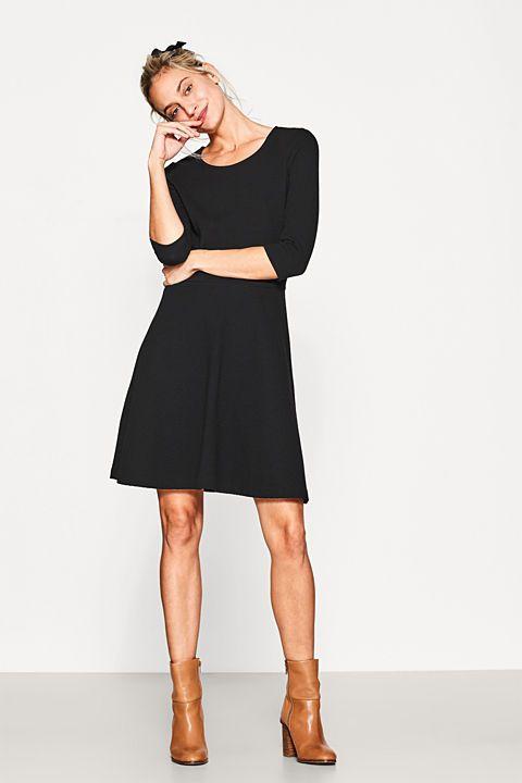 Jerseykleid mit Struktur und Stretch | Kleider damen ...