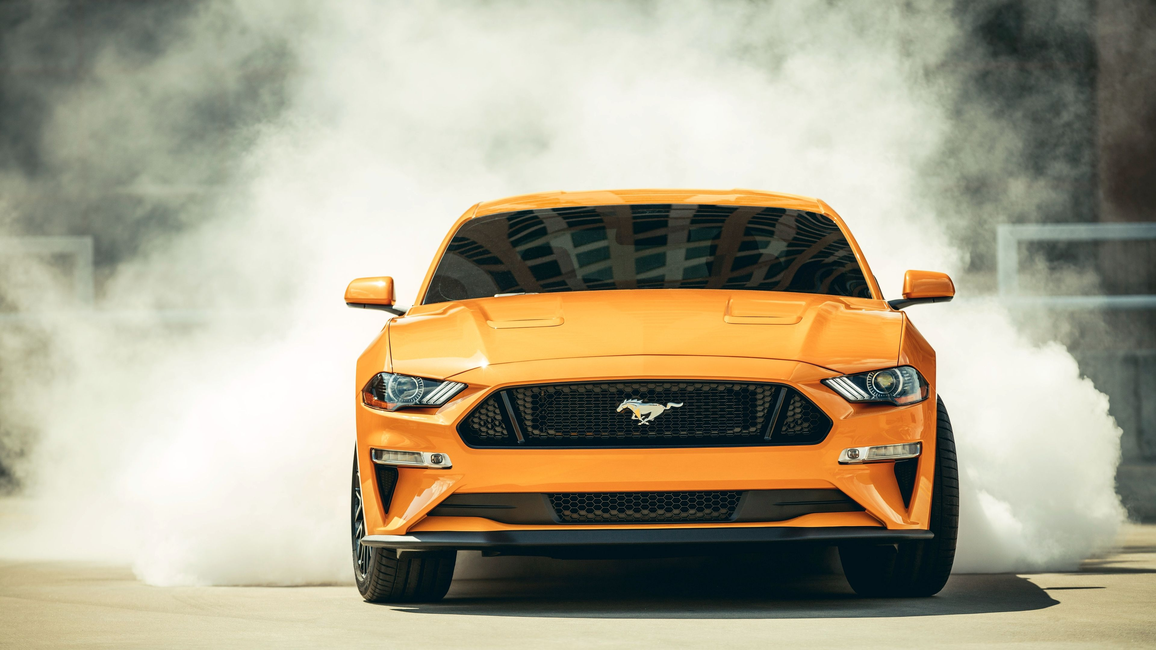 2018 Ford Mustang Gt Fastback Front Hd Wallpapers Ford Mustang