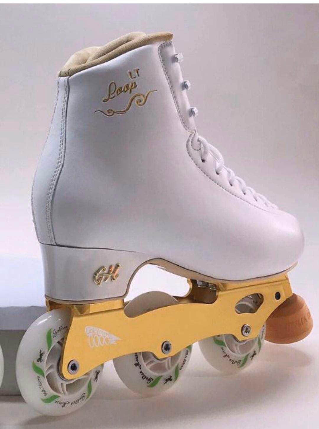 Golden Horse Skate Loop Lt With Inline Frames In 2020 Roller Skate Shoes Roller Shoes Roller Skates Vintage