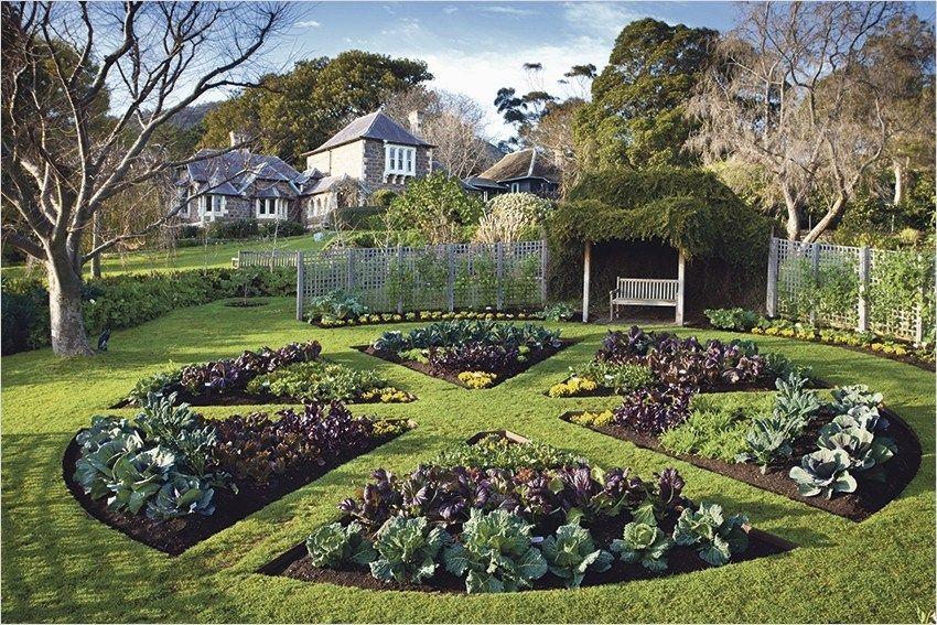 Most Beautiful Vegetable Gardens 11 Tuin Indelingen 400 x 300
