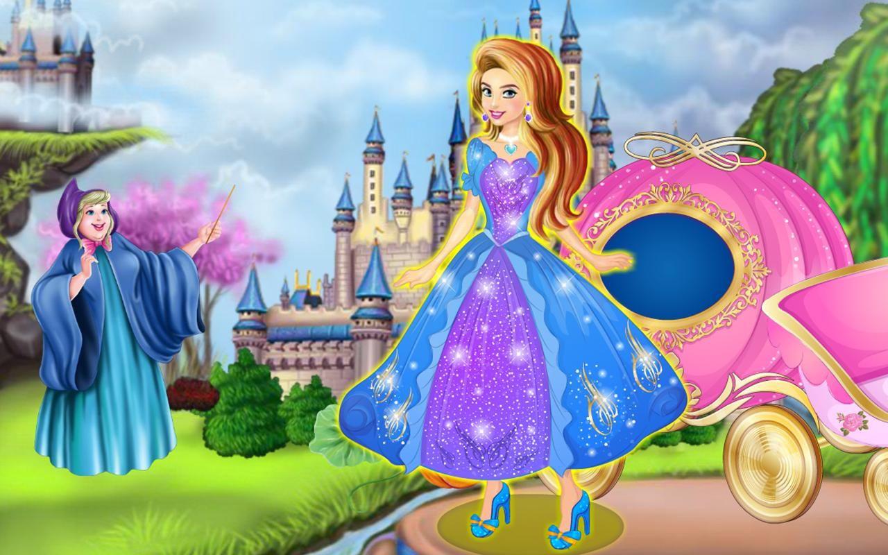 Cinderella dress up fairy tale apk download free