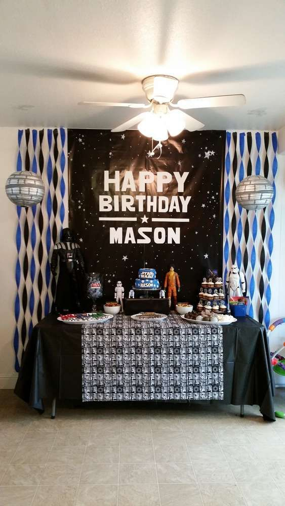 Star Wars Birthday Party Ideas  Photo 5 of 25  Star wars