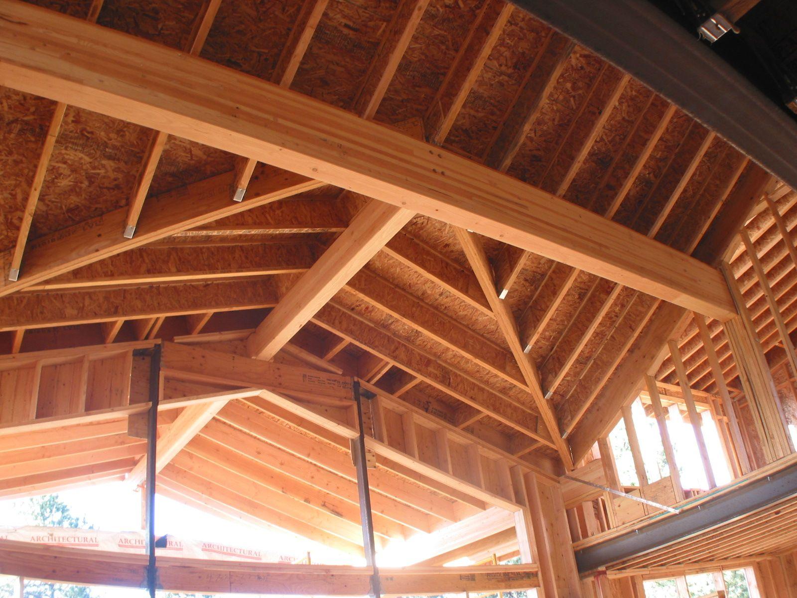 "Best Wooden Roof Construction Details ""Google"" Paieška 400 x 300"