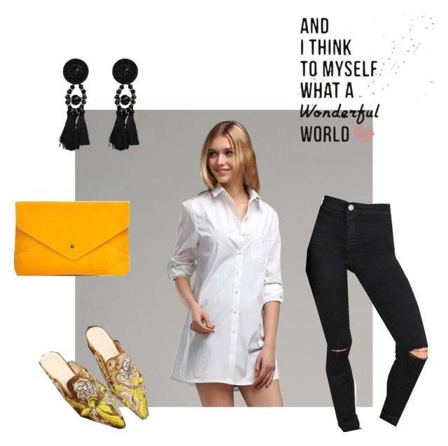 """Wear it simple like a parisian."" by merchandizeworld on Polyvore"