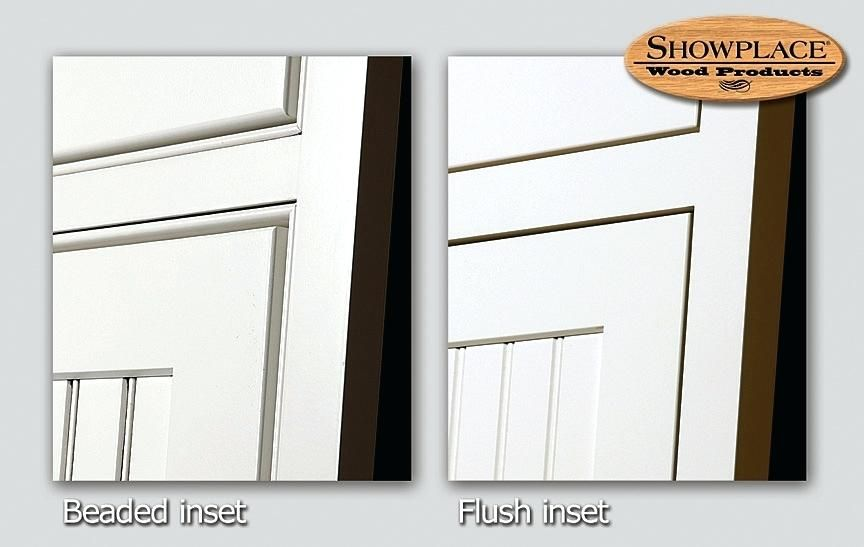 Inset Door Kitchen Cabinets Or Flush Styling Rta